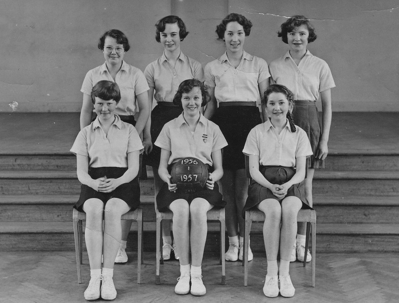 1956-57 Junior Netball Team