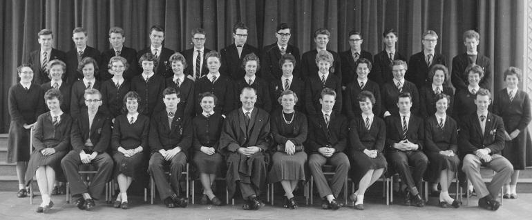 1961-62 Sixth Form